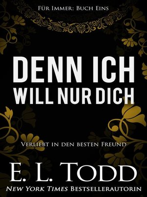 cover image of Denn ich will nur dich
