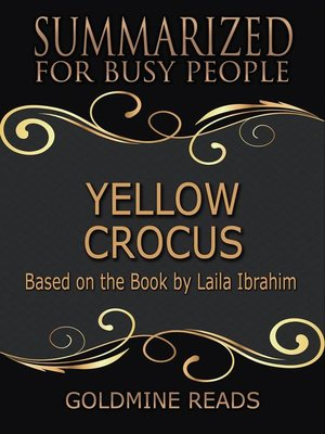 cover image of Yellow Crocus--Summarized for Busy People