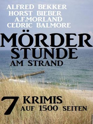 cover image of Mörderstunde am Strand