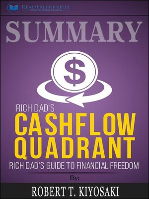 cover image of Summary of Rich Dad's Cashflow Quadrant