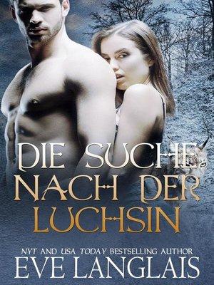 cover image of Die Suche nach der Luchsin