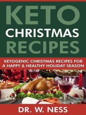 cover image of Keto Christmas Recipes