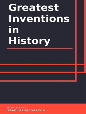 cover image of Greatest Inventions in History