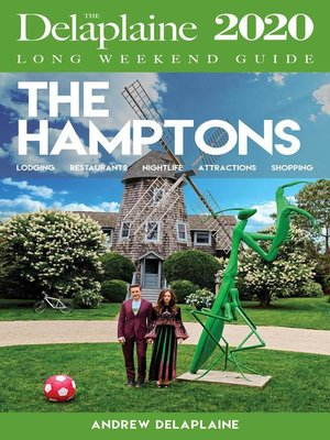cover image of The Hamptons--The Delaplaine 2020 Long Weekend Guide