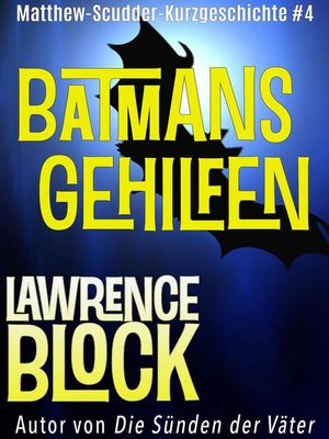 cover image of Batmans Gehilfen
