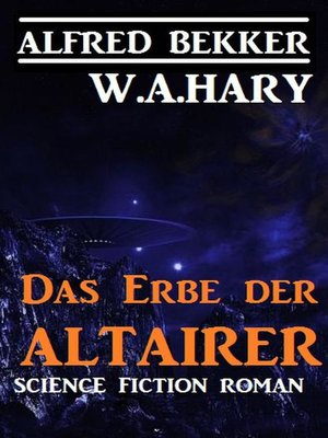 cover image of Das Erbe der Altairer