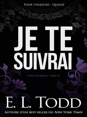 cover image of Je te suivrai