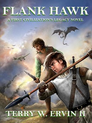 cover image of Flank Hawk- a First Civilization's Legacy Novel
