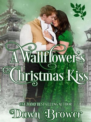 cover image of A Wallflower's Christmas Kiss