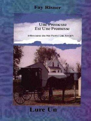 cover image of Une Promesse est Une Promesse