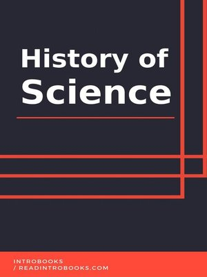 cover image of History of Science