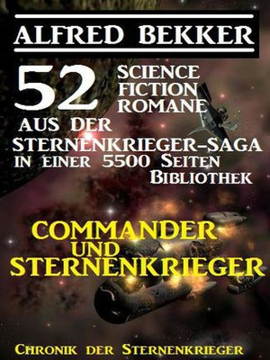 cover image of Commander und Sternenkrieger