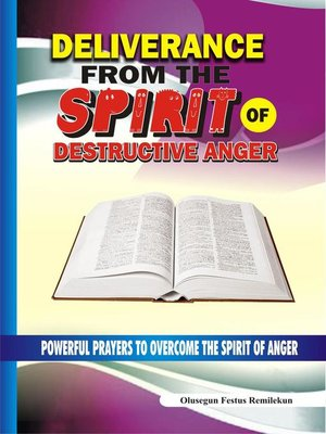 cover image of Deliverance From the Spirit of Destructive Anger