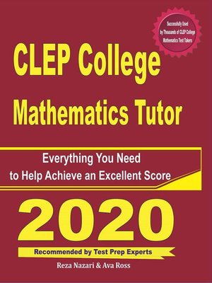 cover image of CLEP College Mathematics Tutor