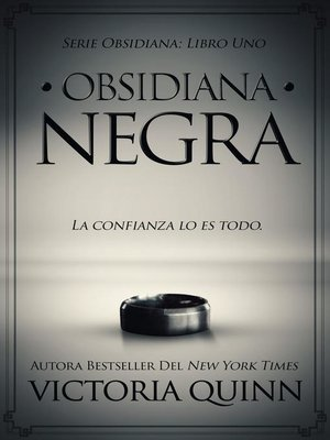 cover image of Obsidiana negra