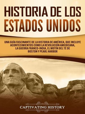 cover image of Historia de los Estados Unidos