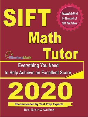 cover image of SIFT Math Tutor