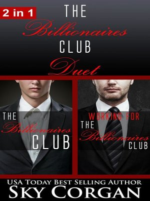 cover image of The Billionaires Club Duet