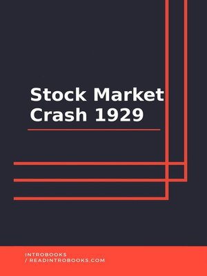 cover image of Stock Market Crash 1929
