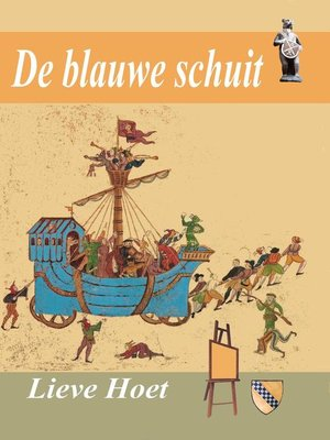 cover image of De Blauwe Schuit