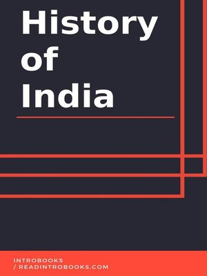 cover image of History of India