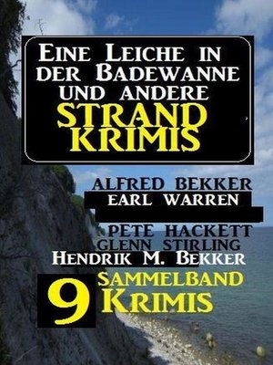 cover image of Sammelband 9 Krimis