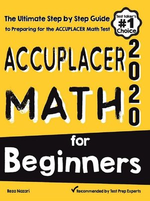 cover image of Accuplacer Math for Beginners