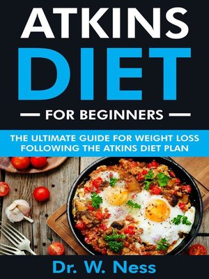 cover image of Atkins Diet for Beginners