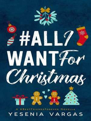 cover image of #AllIWantForChristmas