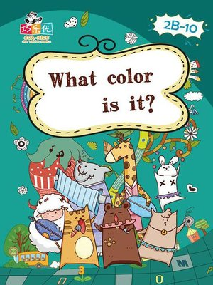 cover image of What Color is It?