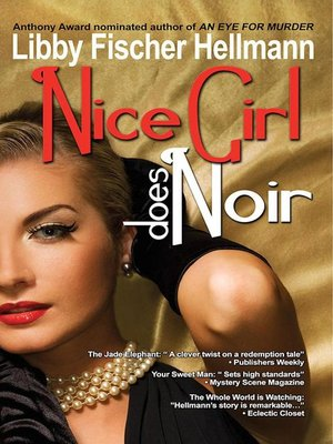 cover image of Nice Girl Does Noir