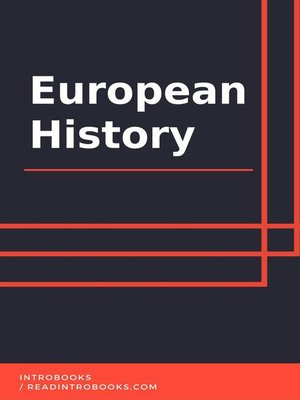 cover image of European History