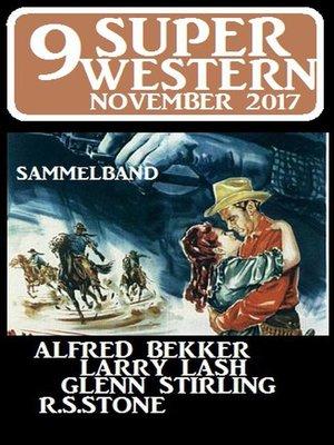 cover image of 9 Super Western November 2017--Sammelband