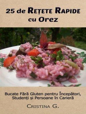 cover image of 25 de Retete Originale cu Orez
