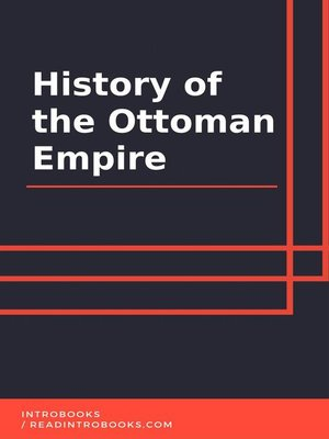 cover image of History of the Ottoman Empire