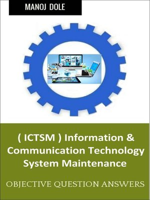 cover image of Information & Communication Technology System Maintenance