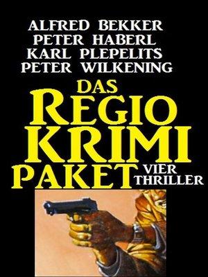 cover image of Das Regio-Krimi Paket