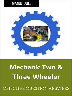 cover image of Mechanic Two & Three Wheeler