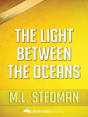 cover image of The Light Between Oceans by M.L. Stedman