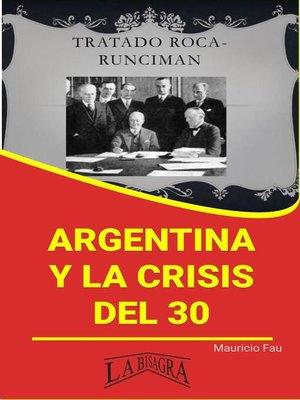 cover image of Argentina y la Crisis del 30