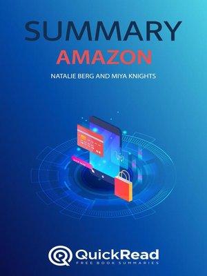 "cover image of Summary of ""Amazon"" by Natalie Berg and Miya Knights"