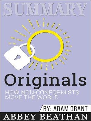 cover image of Summary of Originals