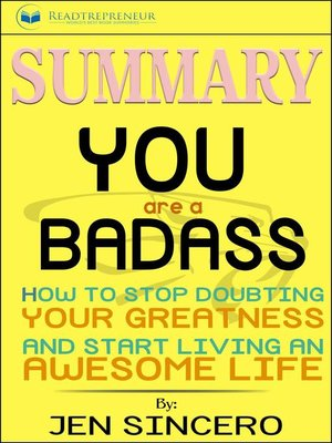 cover image of Summary of You Are a Badass