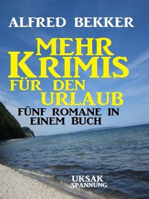 cover image of Mehr Krimis für den Urlaub