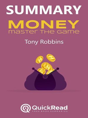 """cover image of Summary of """"Money"""