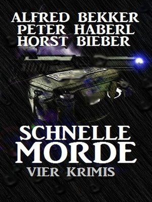 cover image of Vier Krimis--Schnelle Morde