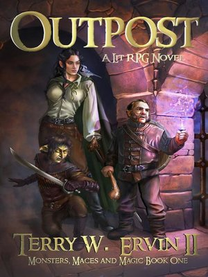 cover image of Outpost- a LitRPG Adventure