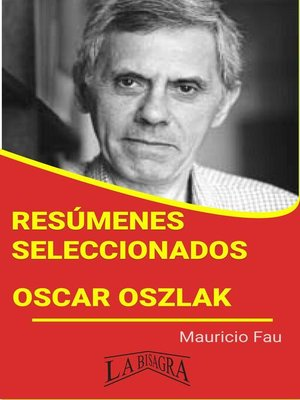 cover image of Oscar Oszlak