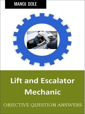 cover image of Lift and Escalator Mechanic