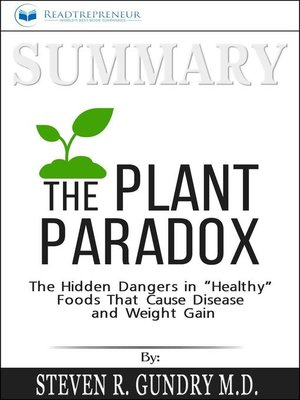 cover image of Summary of the Plant Paradox